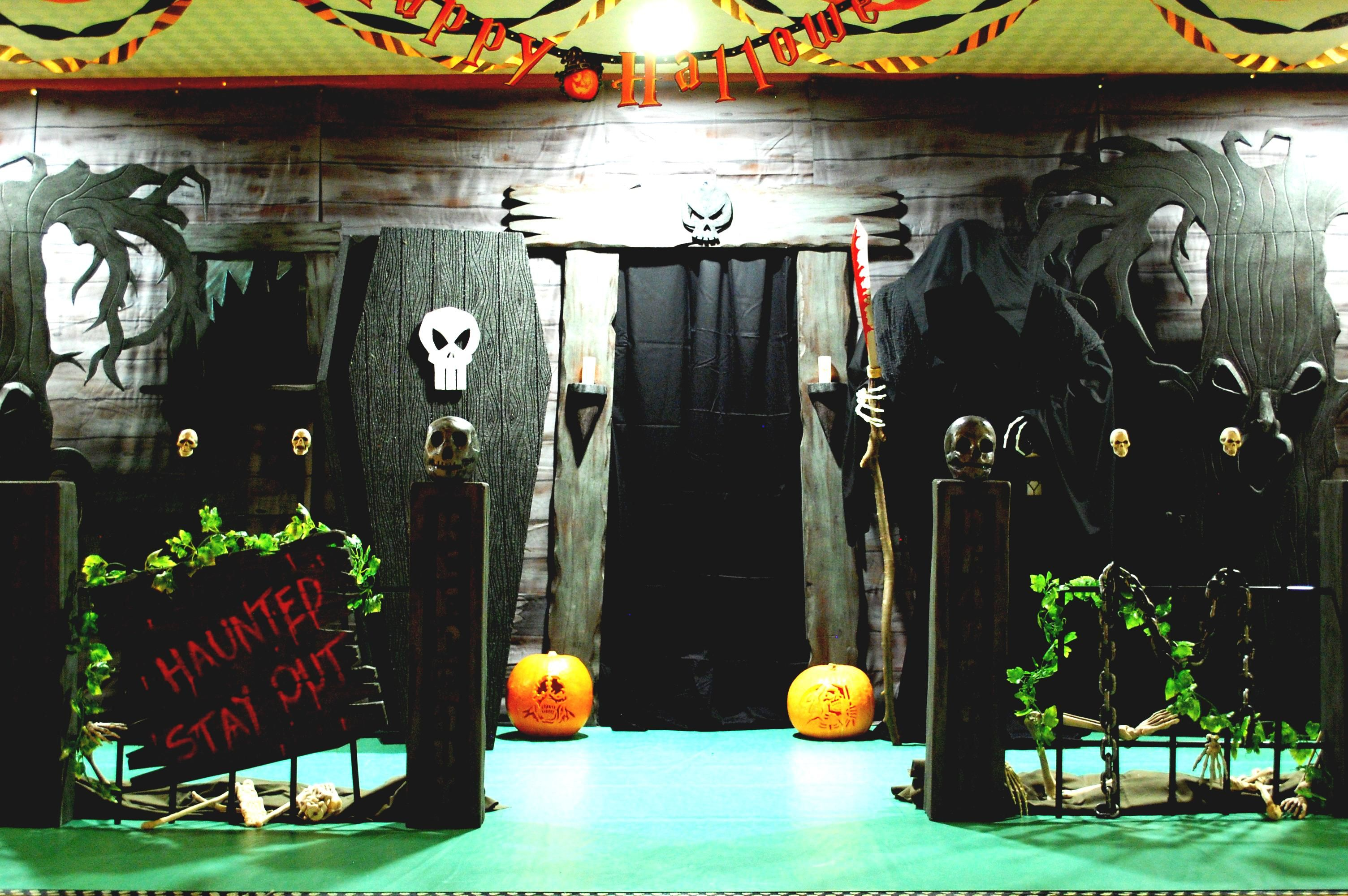 Haunted House Ideas Make Your Own Haunted House Decorating - halloween houses decorated