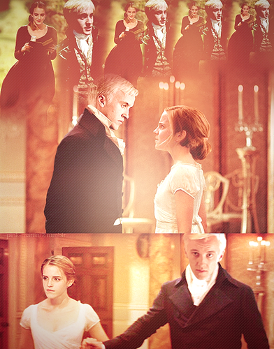 Dramione Fan Art Regency Dramione Dramione Harry Potter Movies Draco And Hermione