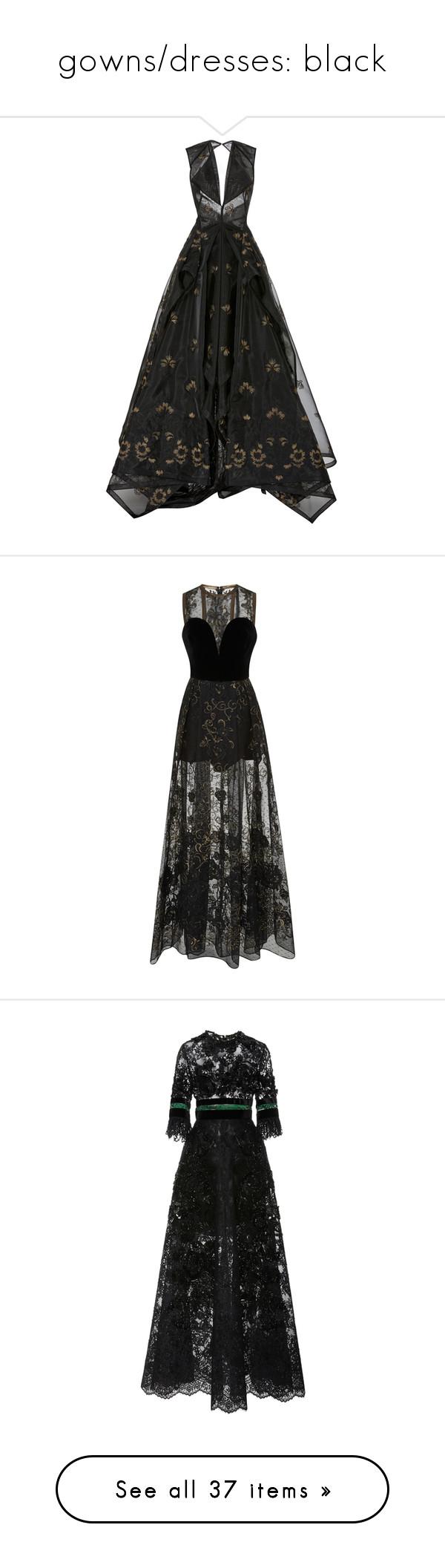 Gownsdresses black