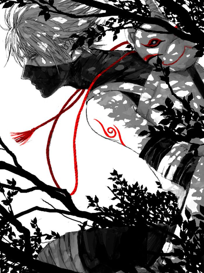 Not sure if its boruto or kakashi either way cool drawing
