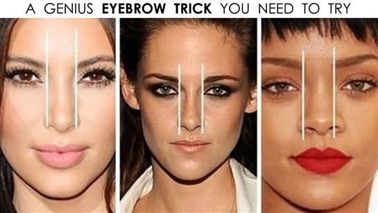 This Eyebrow Trick Can Change Your