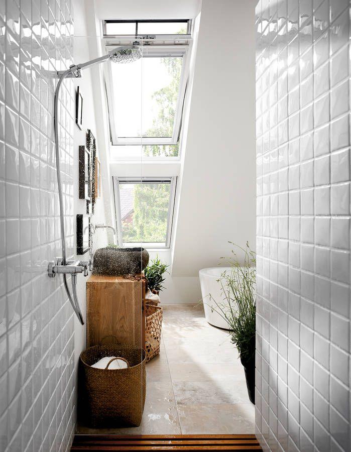 La salle de bains blanche, un basique facile à décorer - Elle