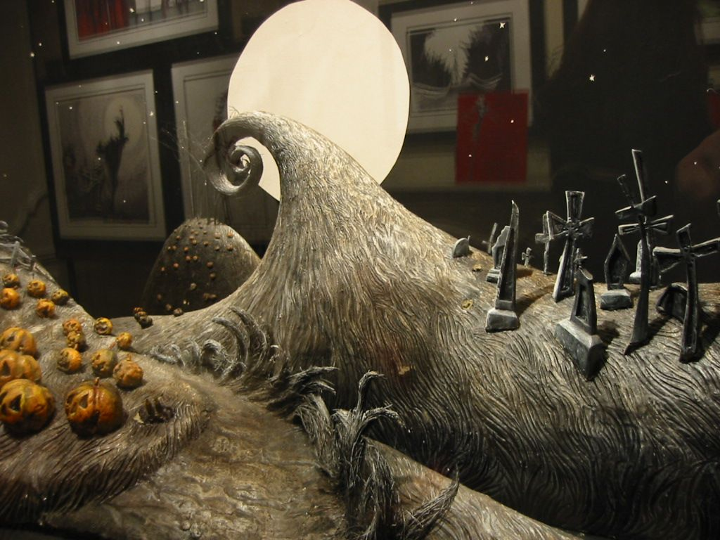 the nightmare before christmas setting | Tim Burton Movies | Pinterest