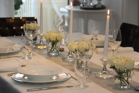 Tischdeko Silberhochzeit 25 Jahre Hochzeit Tischdekoration 1