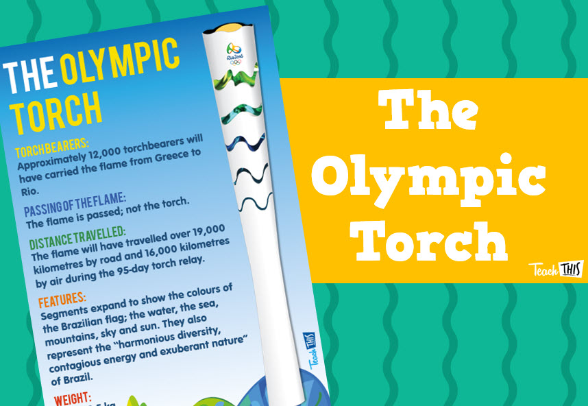 2016 The Olympic Torch - Rio