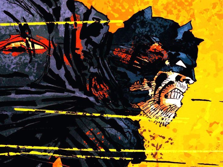 Frank Miller Batman Wallpaper