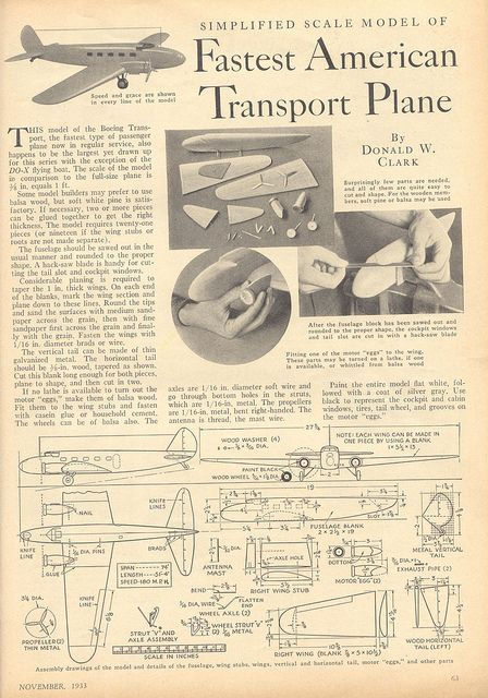 Transport plane 1933 p4 by pilllpat (agence eureka), via Flickr