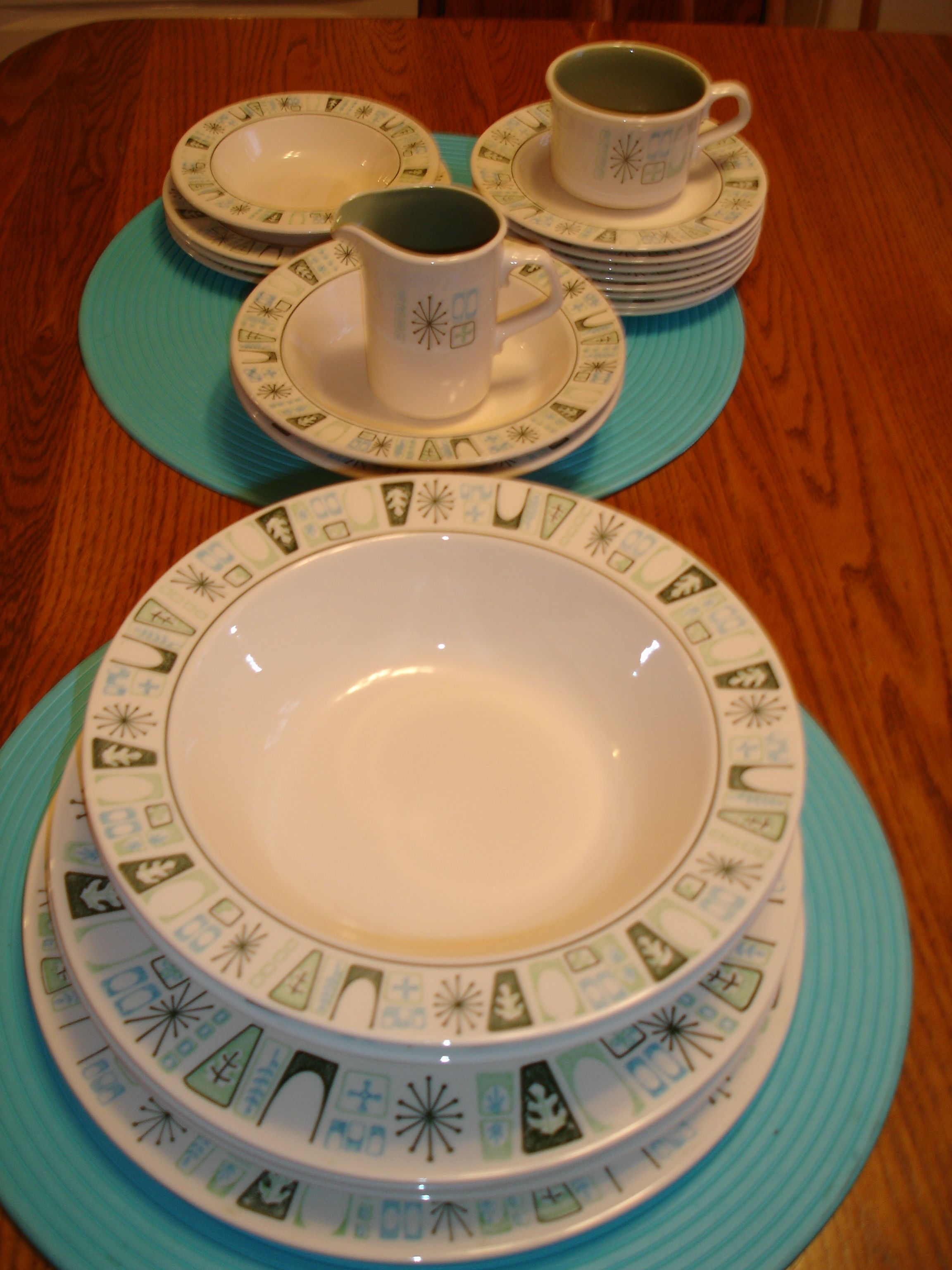 My Taylorstone Cathay Dishes Mid Century Kitchen Tableware Dishes