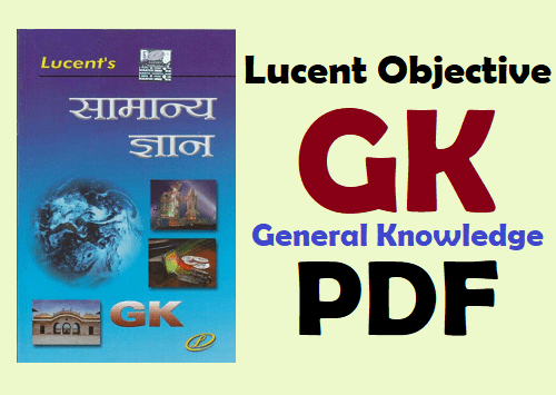 Lucent Objective General Knowledge Pdf English
