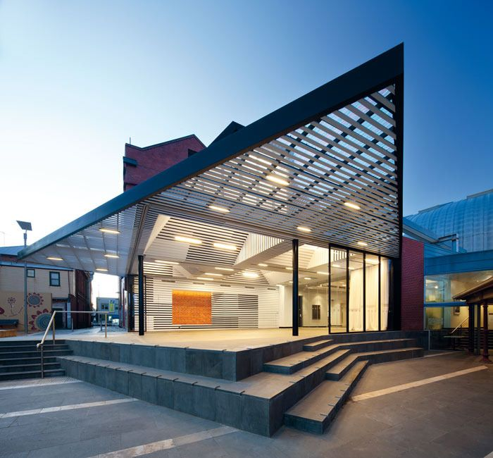 Exterior Design Art art annex (expansion)   ballarat, australia   searle x waldron