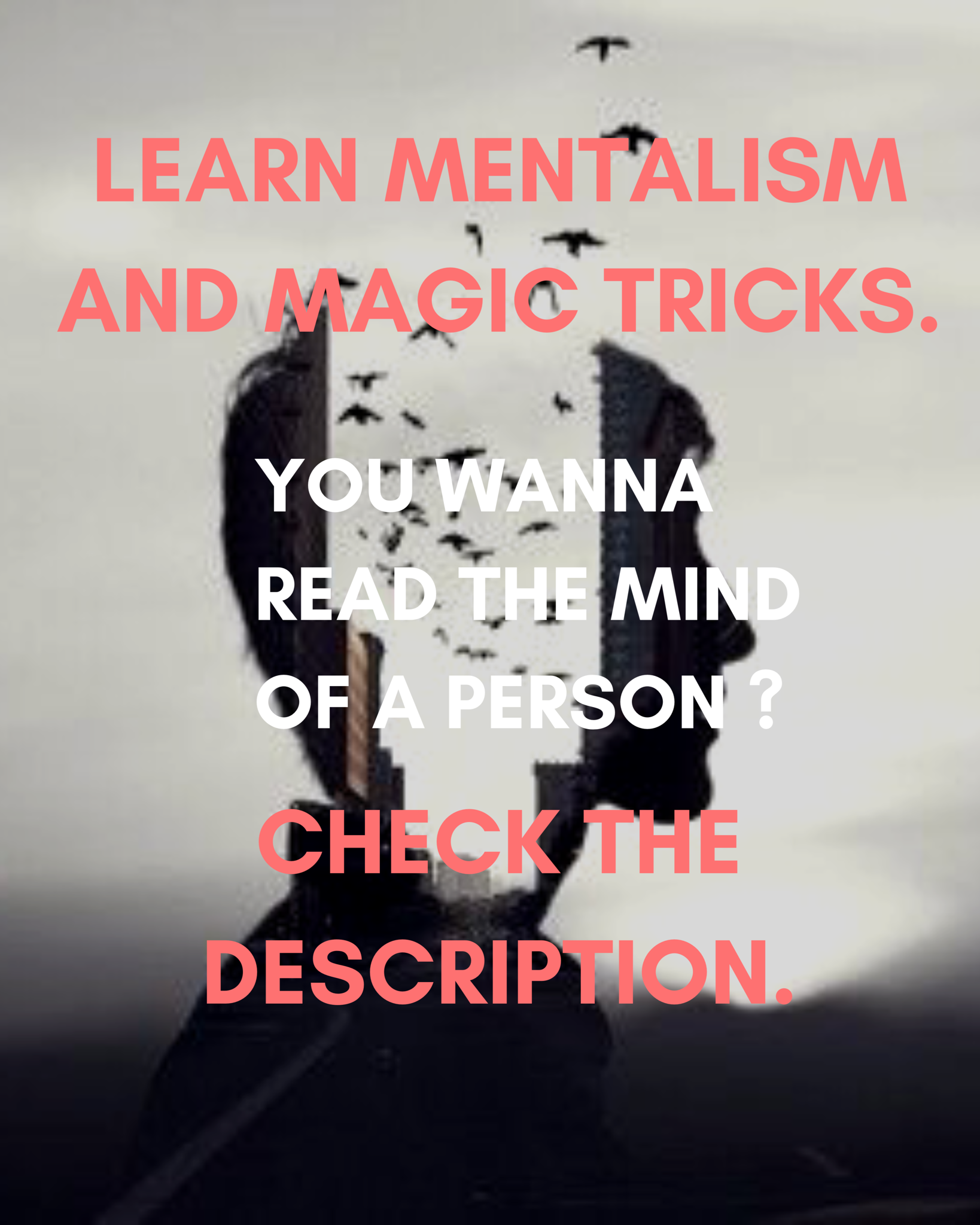 Learn To Be A Mentalist Learn Mentalism And Magic Tricks Mind Reading Tricks Psychological Manipulation Learning To Be