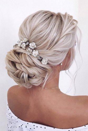Wedding Hairstyles 2019 Ideas ❤︎ Wedding planning ideas & inspiration. Wedding dresses, decor, and lots more. #weddingideas #wedding #bridal