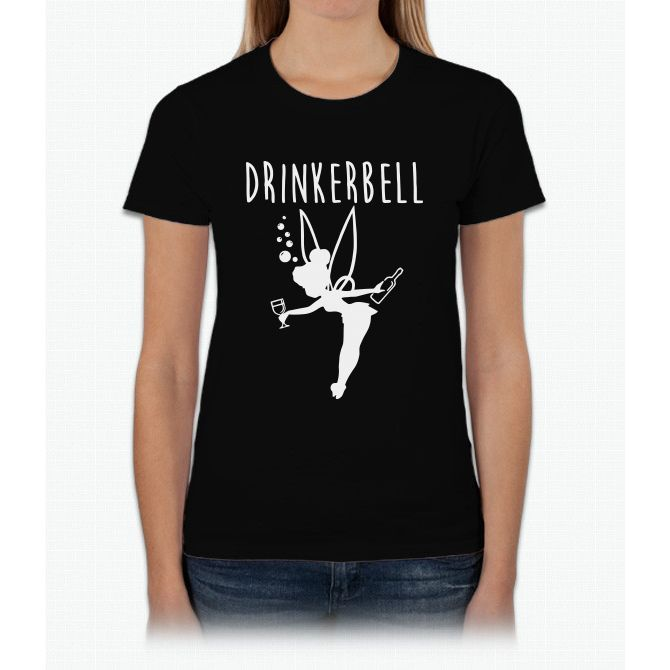 Drinker Bell T Shirt Womens T-Shirt