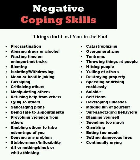 Pin by Karen Rose on mental health Pinterest Therapy, Coping - skills list
