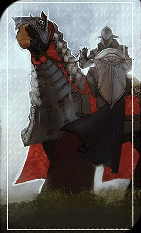 Dragon Age: Inquisition - A Horsemasters Notes on Mounts tarot card
