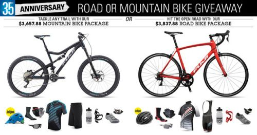 35th Anniversary Road Or Mountain Bike Giveaway 5 29 17 Us