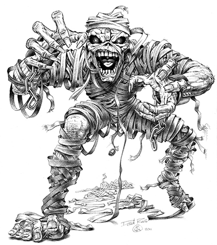 Pin De Queenlilo Lilo Em Derek Riggs Eddie Arte Com Caveira Tatto Caveiras Wolverine Desenho