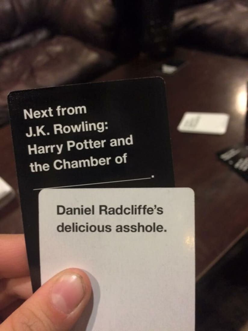 17 outrageosly funny cards against humanity combinations