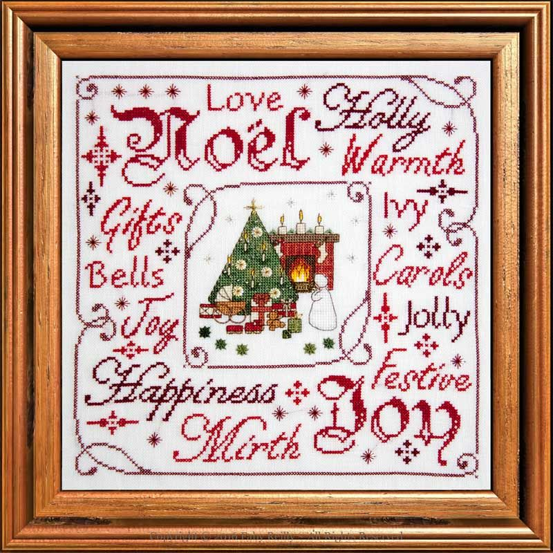 Victorian Christmas Frame - Faby Reilly Designs