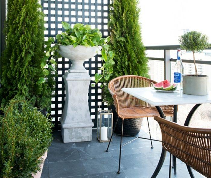 ▷ 1001 + ideas sobre decoración de terrazas pequeñas