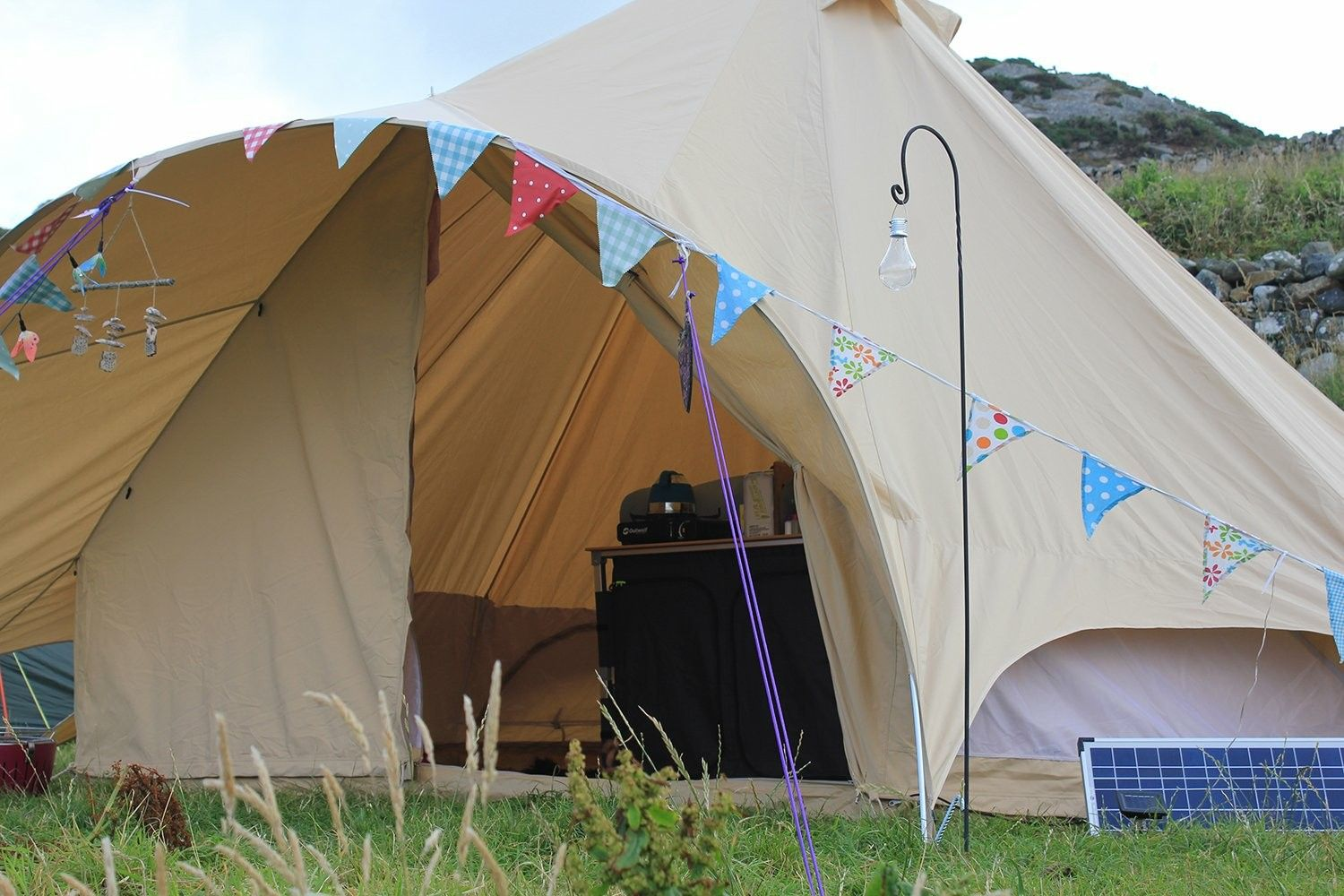 The brand new star canopy bell tent from Boutique C&ing & The brand new star canopy bell tent from Boutique Camping | CWS ...