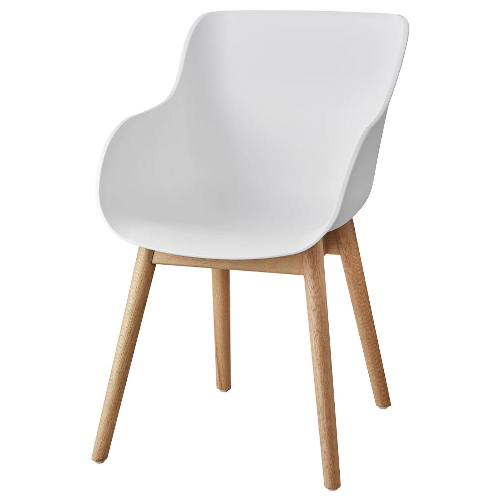 Torvid Chaise Blanc Chene Ikea En 2020 Chaise Bois Blanc Ikea Chaises Blanches