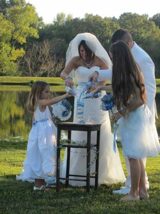 Family Sand Ceremony I Want To Do A With Bailey Great Way