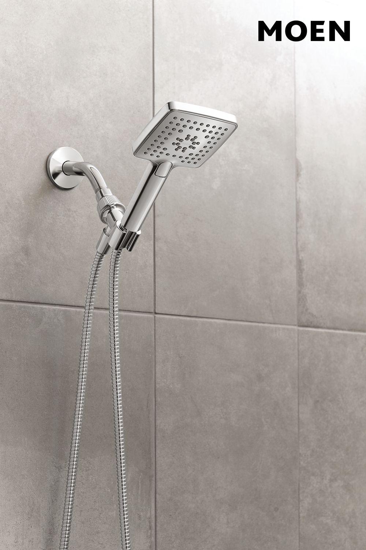 Genta Handheld Shower Chrome With Images Shower Remodel