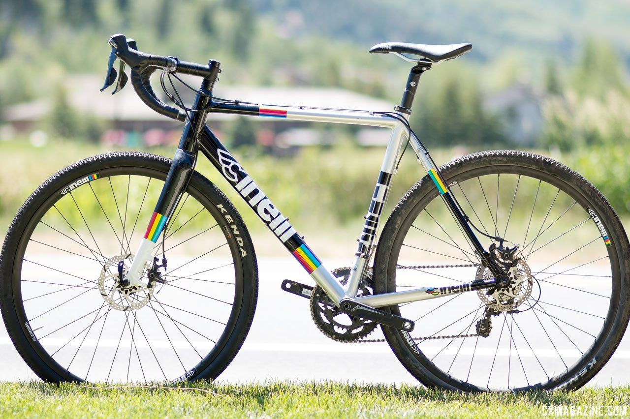 The $1600 Cinelli Zydeco aluminum cyclocross/gravel bike with ...