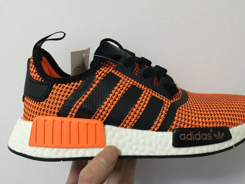 newest 6f153 67c2a Durable Shoe Adidas NMD PK Runner men Orange black on Sale