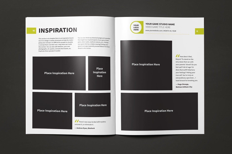 Game Design Document Template Game Design Document Game Design