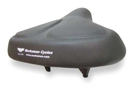 WORKSMAN 6911v Bicycle Seat 13 In. Extra Wide by WORKSMAN. $27.19. Bicycle Seat 13 In. Extra Wide, For Use With Mfr. No. M2626-CB-ORG, M2626-CB-ORG-L4M, INBORG or Any Bicycle With 7/8 In. Seatpost