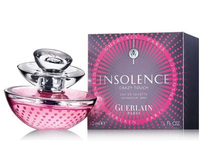 Insolence Crazy Touch Guerlain perfume - a new fragrance for women 2014
