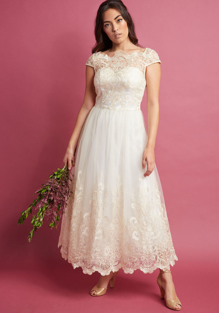 4a95f259422b Vintage Inspired Wedding Dress