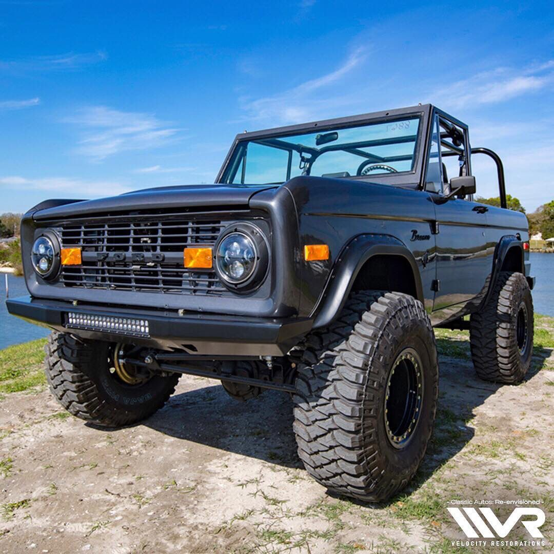 1972 Early Ford Bronco For Sale 69900 Engine 302 V8 With Motor Wiring Edelbrock Carb Msd Wires Aluminum Valve Covers New Vacuum Assist Brake Booster And
