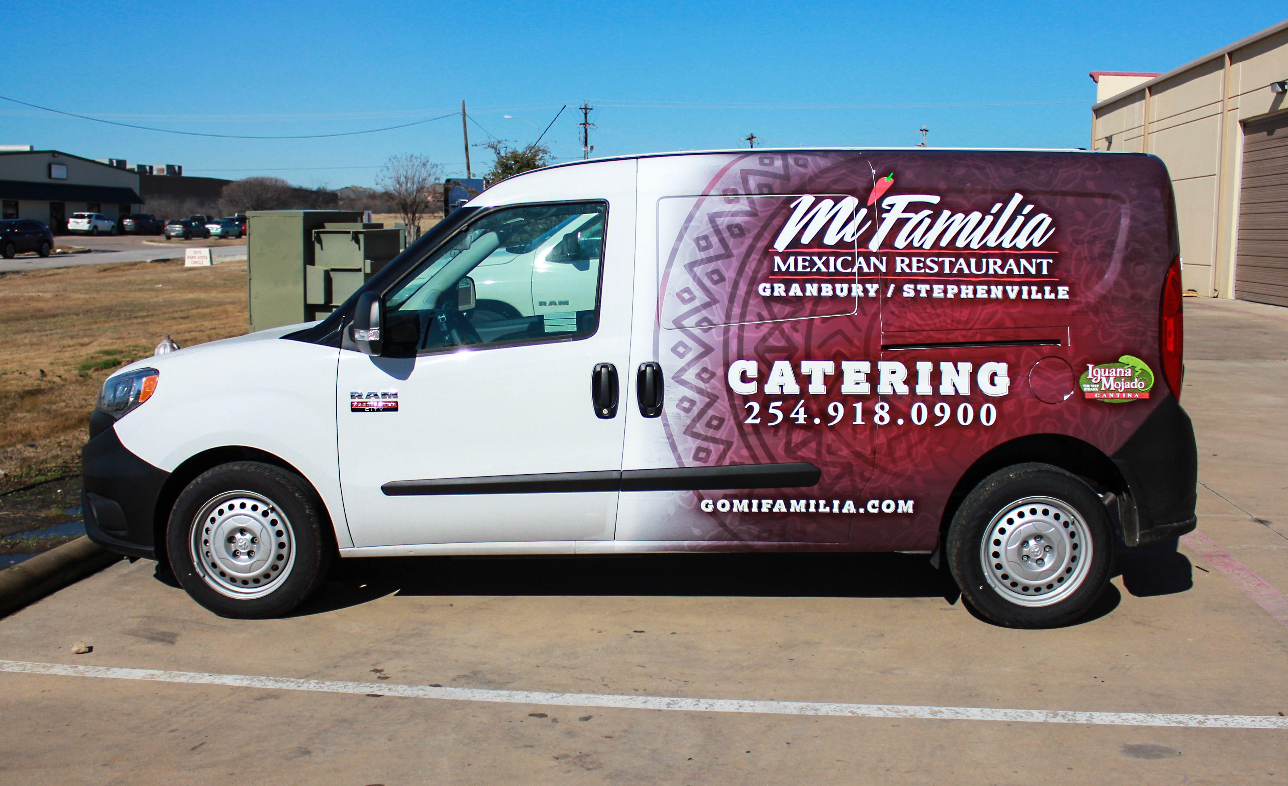 Catering Van Ideas Mexican Food Aztec Van Wrap Design Granbury