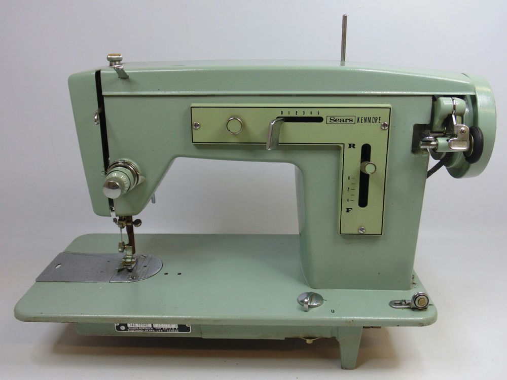 Vintage Sears Kenmore Sewing Machine 40 W PedalPlug Great Classy Kenmore Sewing Machine Vintage