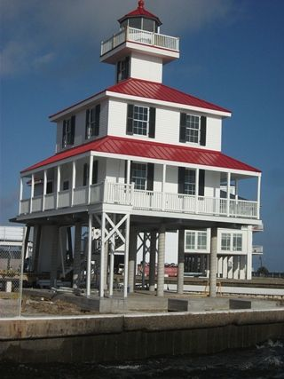 New Canal Lighthouse: Newly restored after being destroyed by Hurricane Katrina. Located at 8001 Lakeshore Drive, open to the general public Thurs-Sat, with tours available 10a-4p.