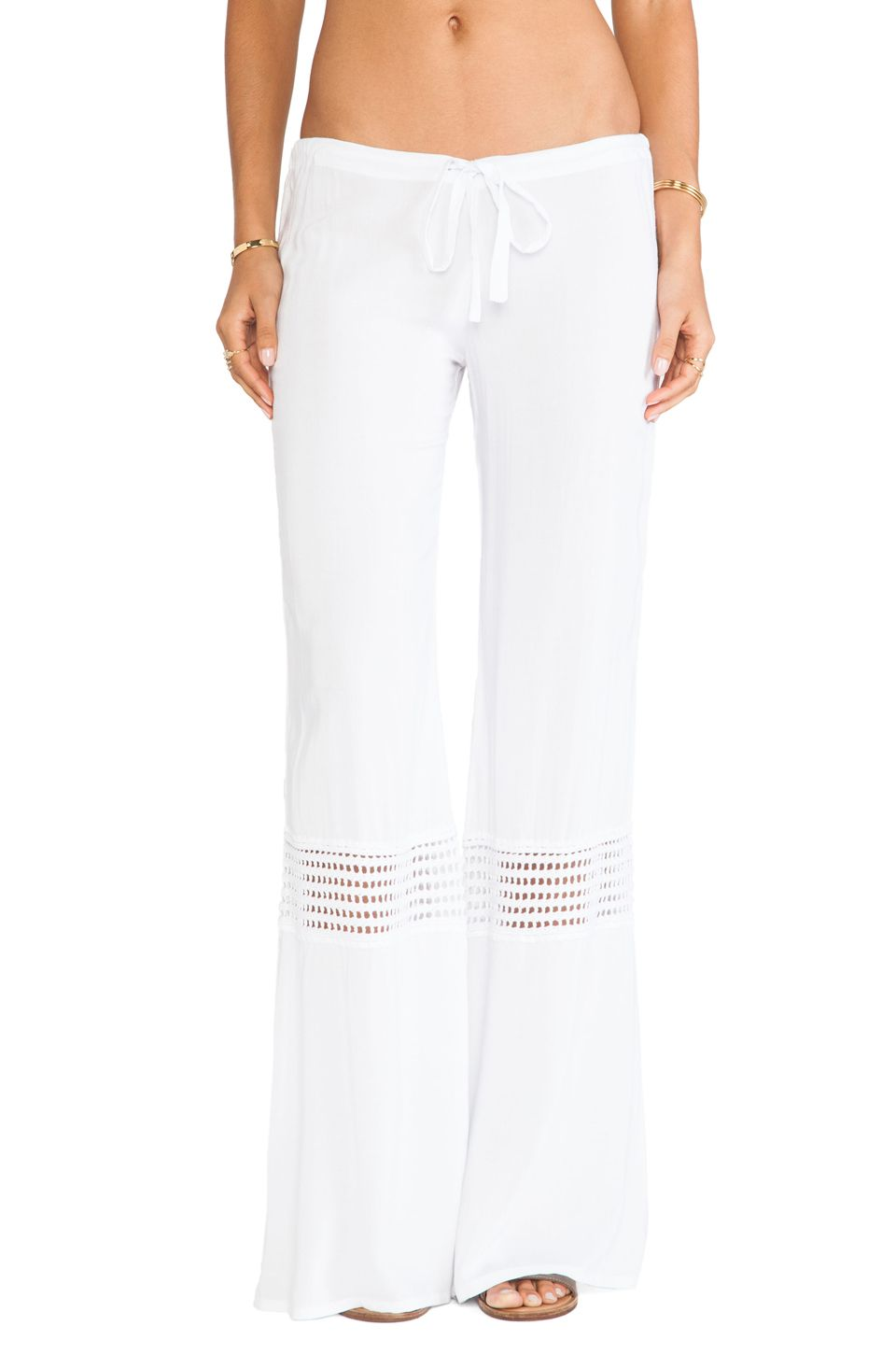 Indah Flores Pant in White | REVOLVE