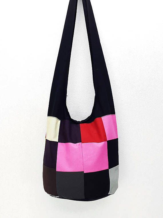 3203c1581f40 Women bag Handbags Thai Cotton Canvas bag Hippie bag Hobo bag Boho bag  Patchwork bag Sling bag Shoul