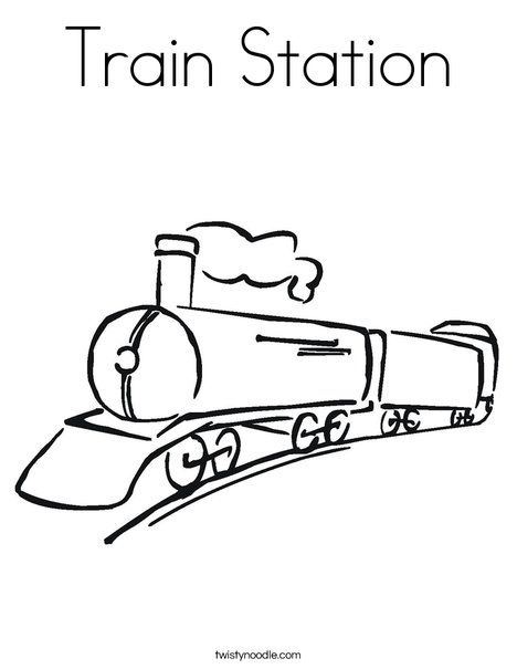 Train Station Coloring Page Train Coloring Pages Coloring Pages Train