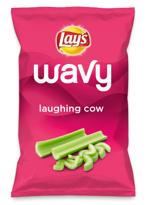 Wouldn't laughing cow be yummy as a chip? Lay's Do Us A Flavor is back, and the search is on for the yummiest flavor idea. Create a flavor, choose a chip and you could win $1 million! https://www.dousaflavor.com See Rules.