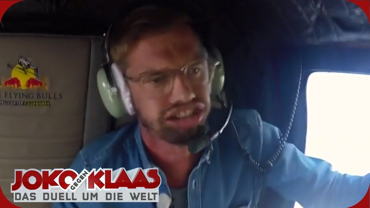 Osterreich Helikopterflug Joko Gegen Klaas Das Duell Um Die Welt Prosieben Youtube Joko Und Klaas Klaas Heufer Umlauf Klaas