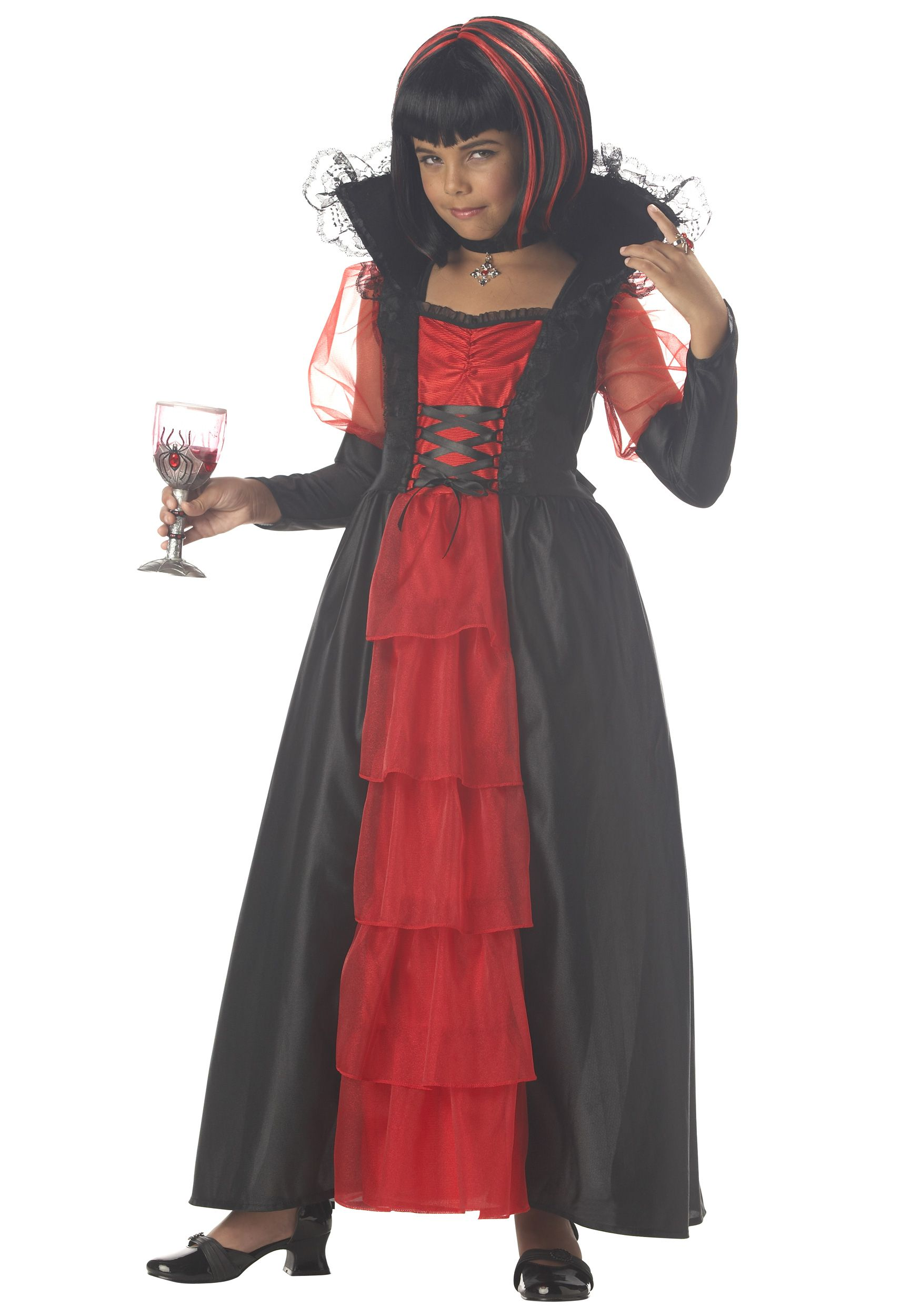 Vampire Costumes for Girls. scary/not too scary? Girls