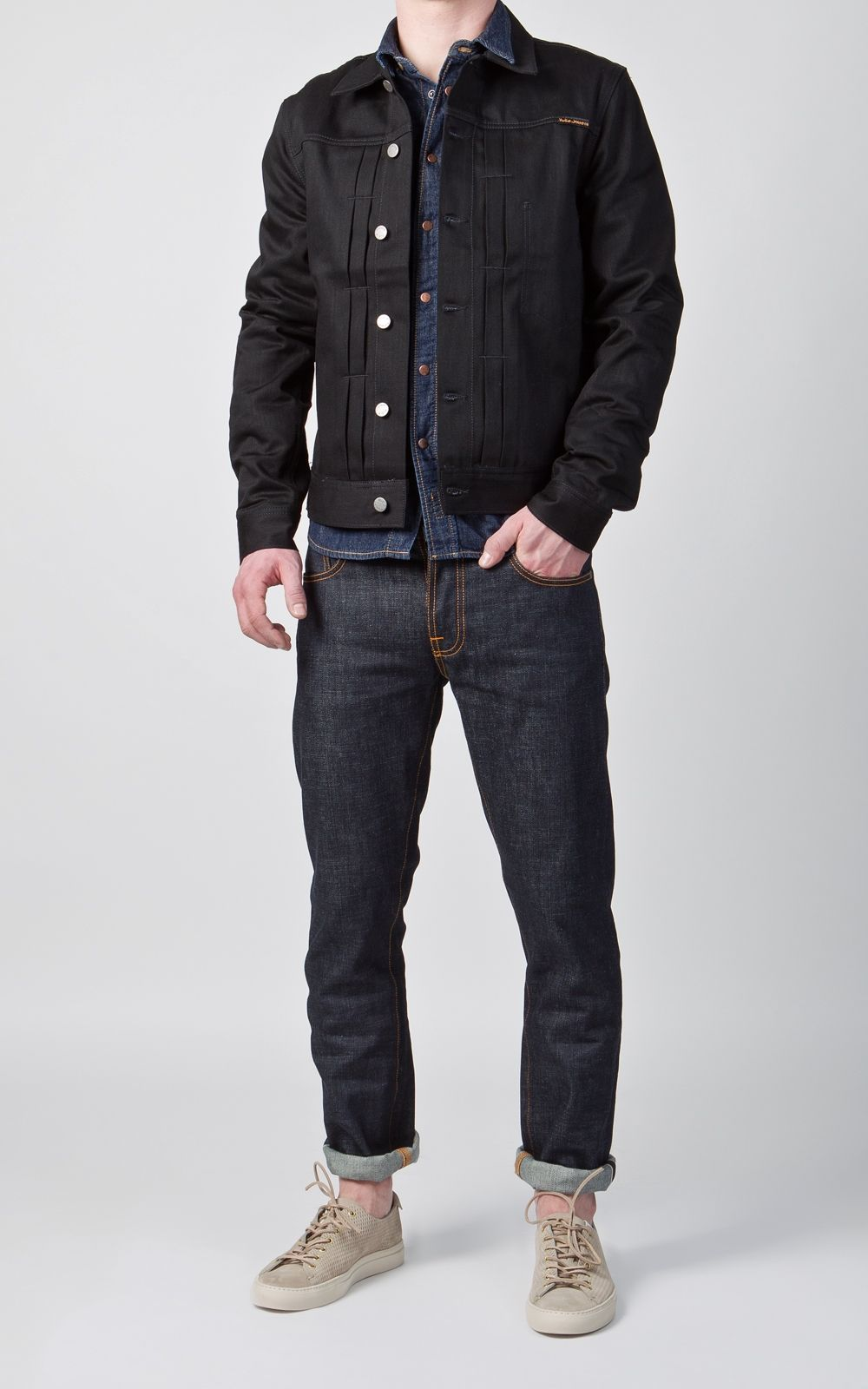eb972f42 Nudie Jeans Sonny Dry Black 12.25oz | clothes | Nudie Jeans, Jeans ...