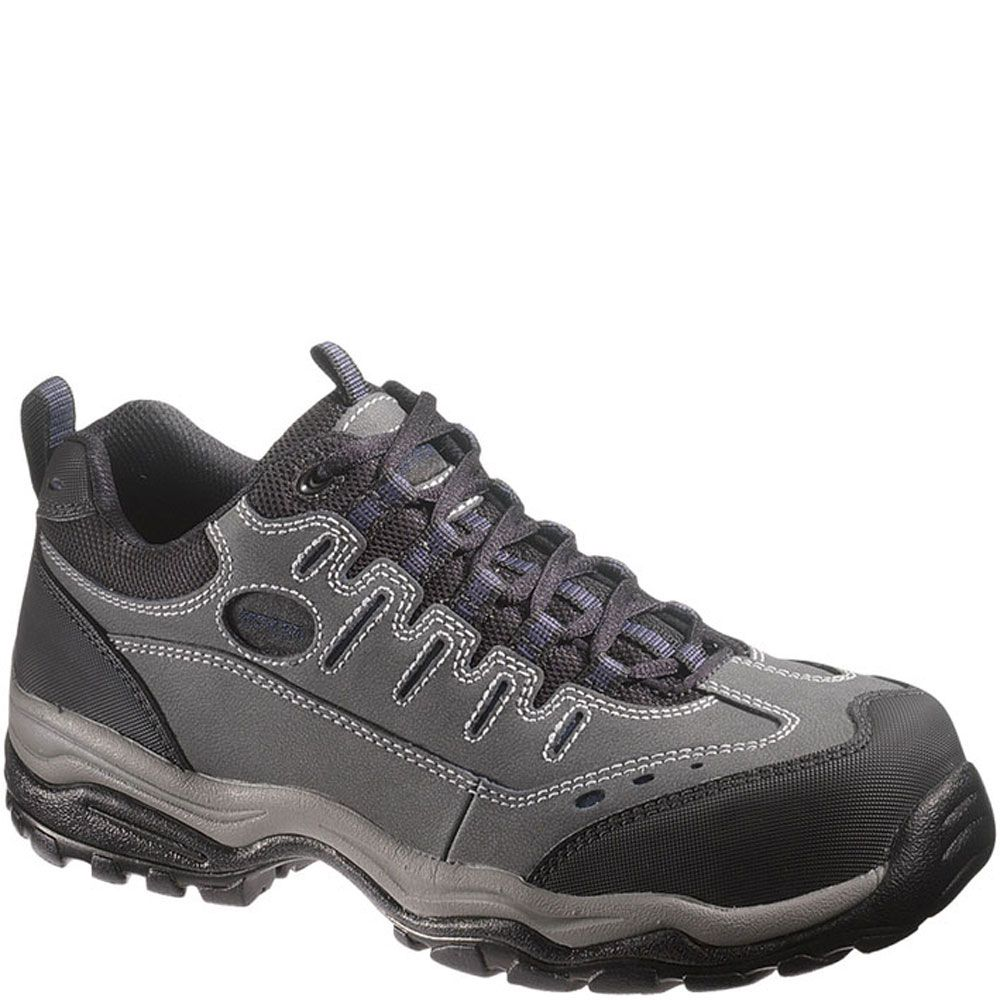11284 hytest unisex lightweight safety shoes grey