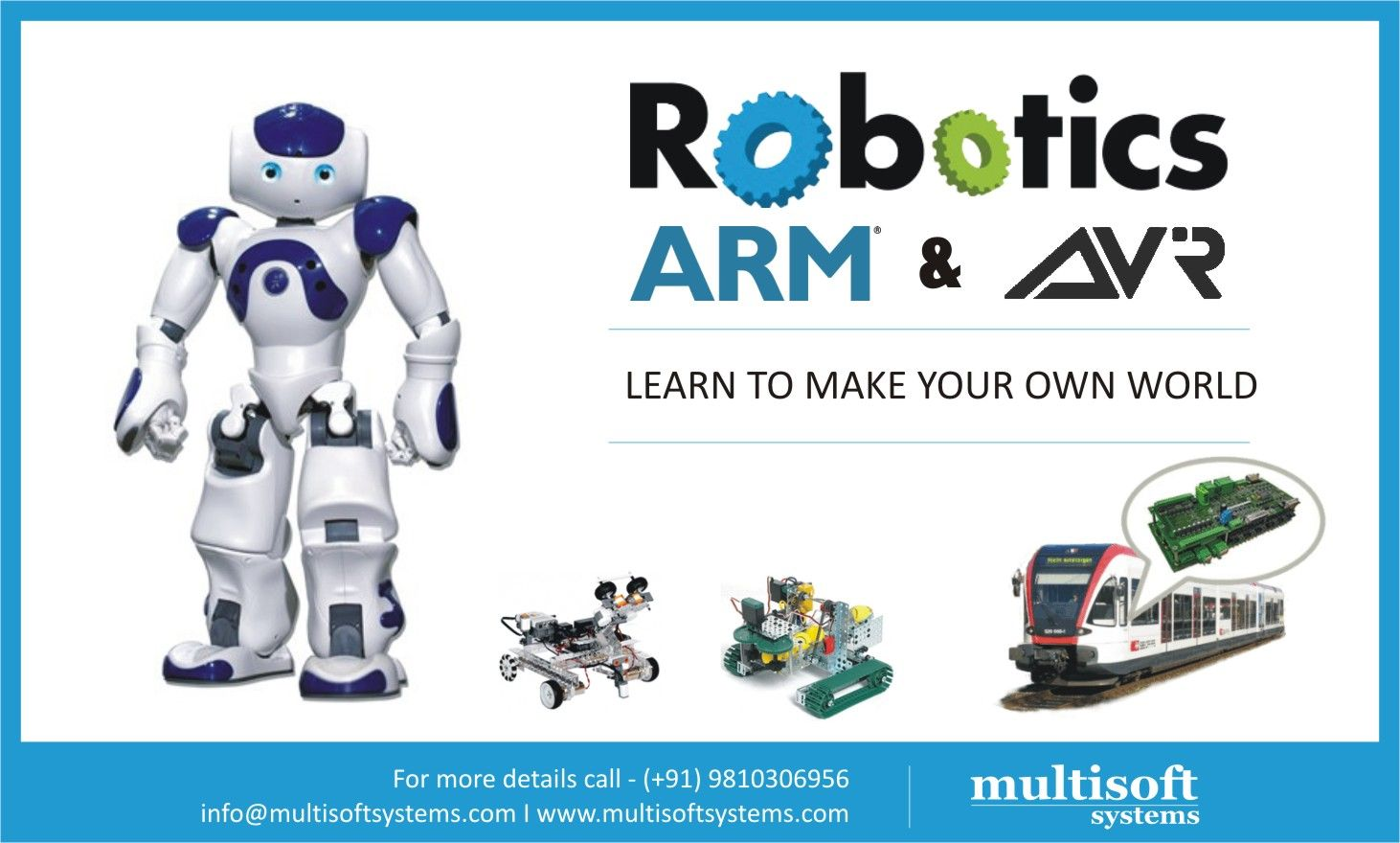 Robotics Training With Avr In Ncr Embedded Systems Certification