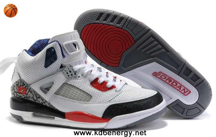 Womens Jordan 3.5 White Black Red Shoes