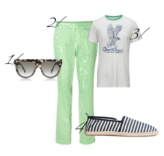 """""""collage sommertøj"""" by silas-kieffer on Polyvore featuring DK, men's fashion and menswear"""