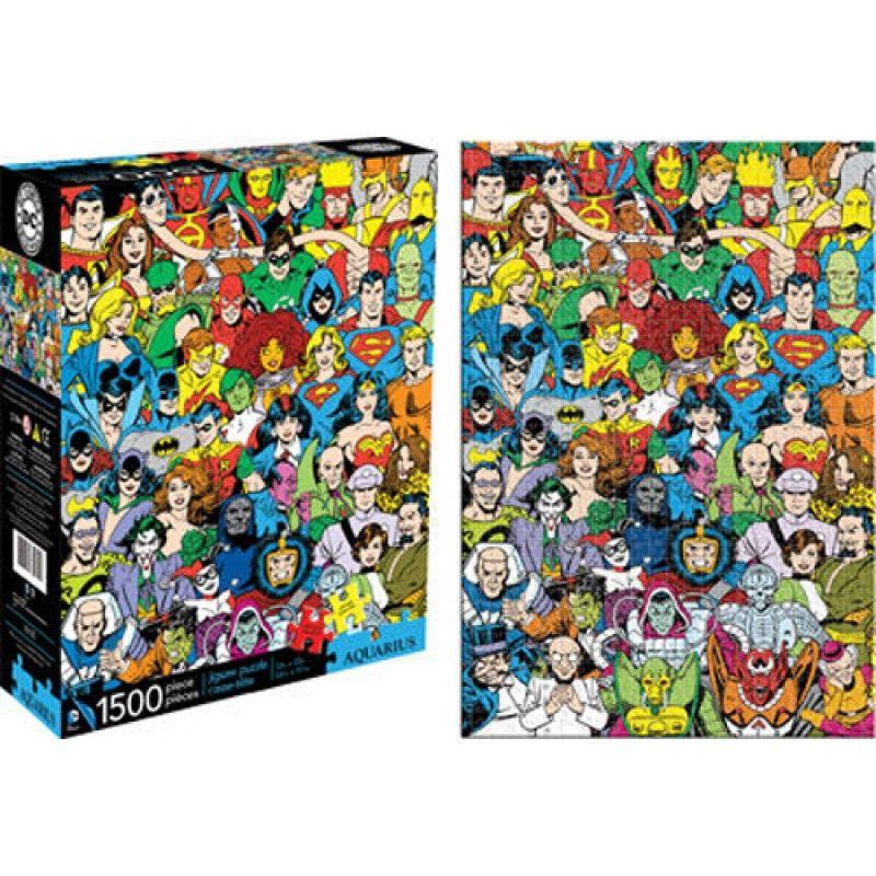 Collectables - Dc Comics Universe 1500pc Puzzle